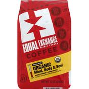 Equal Exchange Coffee, Organic, Whole Bean, Mind Body & Soul