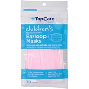 TopCare Earloop Masks, Premium Elastic, Children's