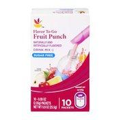 SB Fruit Punch Sugar Free Drink Mix - 10 CT