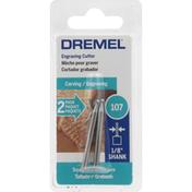 Dremel Cutter, Engraving, 107, 2 Pack