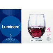 Luminarc Glass, Brighton, 15 Ounce