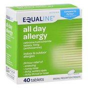 Equaline All Day Allergy, Original Prescription Strength, Tablets