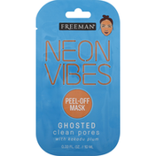 Freeman Peel-Off Mask, Ghosted, Clean Pores with Kakadu Plum