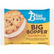 Blue Bunny Big Bopper Vanilla Sandwich