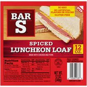 Bar-S Spiced Luncheon Loaf