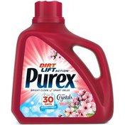 Purex Liquid Detergents Dirt Lift Action with Crystals Freshness Fresh Cherry Blossom Laundry Detergent