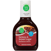 Food Club Barbecue Sauce, Hickory & Brown Sugar