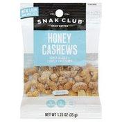 Snak Club Cashews, Honey, Snak Size