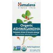 Himalaya Ashwagandha, Organic, Caplets