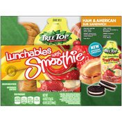 Lunchables Ham & American Sub Sandwich with Chiquita Strawberry Banana Smoothie