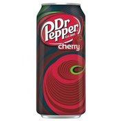 Dr Pepper Soda, Cherry