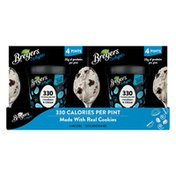 Breyers Reduced Fat Ice Cream Cookies And Cream