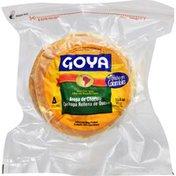 Goya Sweet Corn Arepa Filled With Mozarella Cheese