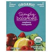 Simply Balanced Vinaigrette, Organic, Raspberry