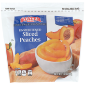 Stater Bros. Markets Freshly Frozen Unsweetened Sliced Peaches