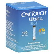 One Touch Test Strips, Blue
