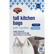 Hannaford Tall Kitchen Tie-Sac Bags