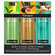 Neutrogena Rainbath Shower Gel, 3 pack, 16 fl oz