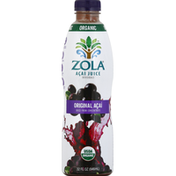 Zola Acai Juice Beverage, Organic, Original Acai