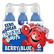 Kool-Aid Bursts Berry Blue Zero Sugar Soft Drink