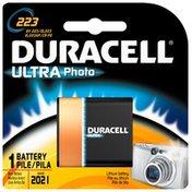 Duracell Ultra Photo 223 Battery