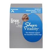 L'eggs Sheer Energy Pantyhose Sheer Vitality A Suntan