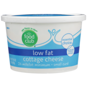 Food Club 2% Low Fat Small Curd Cottage Cheese