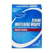CareOne Xtreme Whitening Wraps Advanced Strength - 7 CT