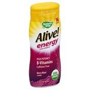 Alive Water Enhancer, Berry Blast Flavored, Caffeine Free
