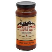 Sweet Fire Barbecue Sauce, Spicy Ghost Pepper