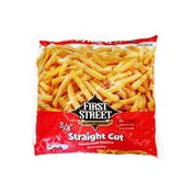 First Street Straight Cut French Fried Potatoes