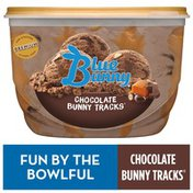 Blue Bunny Chocolate Bunny Tracks Frozen Dessert