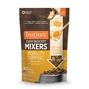 Instinct Raw Boost Mixers Mobility Support Recipe Grain-Free Freeze-Dried Dog Food Topper