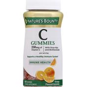 Nature's Bounty Vitamin C, 250 mg, Gummies, Orange Flavored