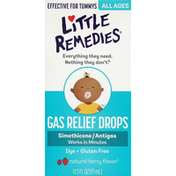 Little Remedies Gas Relief Drops, Natural Berry Flavor!
