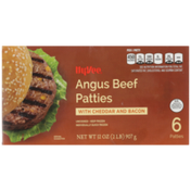 Hy-Vee Angus Beef Patties With Cheddar And Bacon