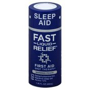 First Aid Shot Therapy Sleep Aid, Fast Liquid Relief, Warming Peach