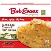 Bob Evans Farms On the Go Breakfast Bakes Bacon, Egg, Cheese & Hash Browns