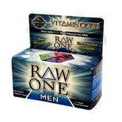 Garden of Life Raw One For Men Once Daily Multivitamin Dietary Supplement Vegetarian Capsules