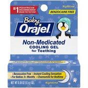 Orajel Non-Medicated Cooling Teething Gel - Nighttime,