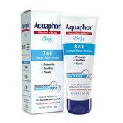 Aquaphor Baby 3-in-1 Diaper Rash Cream Tube