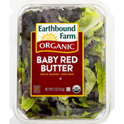 Earthbound Farms Organic Baby Red Butter Lettuce