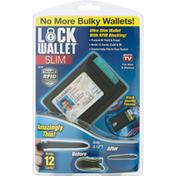 Lock Wallet Wallet, Slim