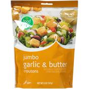 Food Club Garlic & Butter Jumbo Croutons