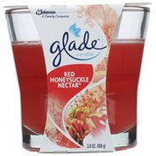 Glade Red Honeysuckle Nectar Candle