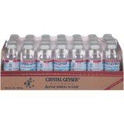 Crystal Geyser Alpine Spring Water Natural Alpine Spring Water