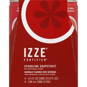 Izze Juice Beverage, Sparkling Grapefruit