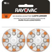 Rayovac Size 13 Batteries, Size 13 Batteries