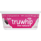 Truwhip Whipped Topping, The Natural, Light