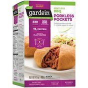 Gardein BBQ Pocket Meals Pulled Porkless Pockets